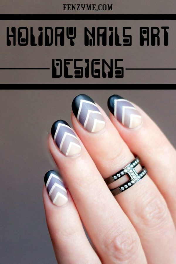 45 Holiday Nails Art Designs 2018 | Pinterest | Holiday nail art ...