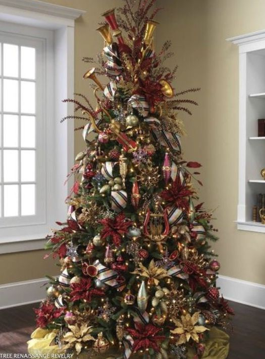 Christmas Trees Decorating Ideas Pictures 23 Beautiful