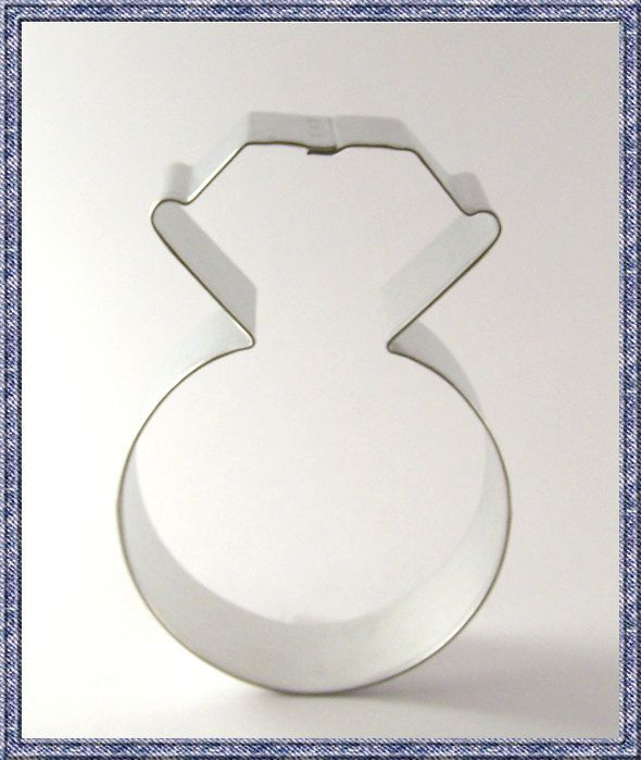 Wedding Ring Cookie Cutter Metal New Engagement Ring Cookie Cutter ...
