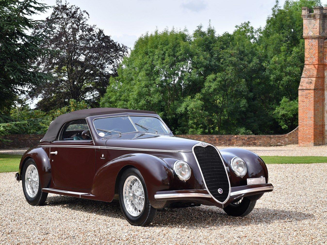 1939 Alfa Romeo 6c 2500 Sport Cabriolet By Touring Alfa Romeo