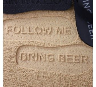 3060d7c6408d5 FlipSidez custom flip flops leave personalized imprints in sand with every  step. Customize flip flops