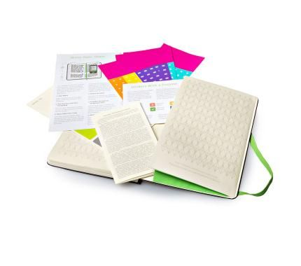 Evernote Business Notebook With Smart Stickers Moleskine Business Notebooks Notebook Moleskine