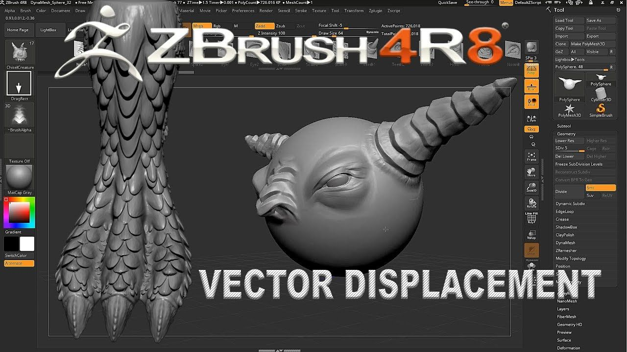 Zbrush 4R8 Create Custom 3D Type — Quotes And Quotes