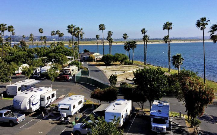 Mission Bay Rv Resort On The Water In Scenic San Diego Good Sam Camping Blog Best Rv Parks Camping World Locations Rv Parks