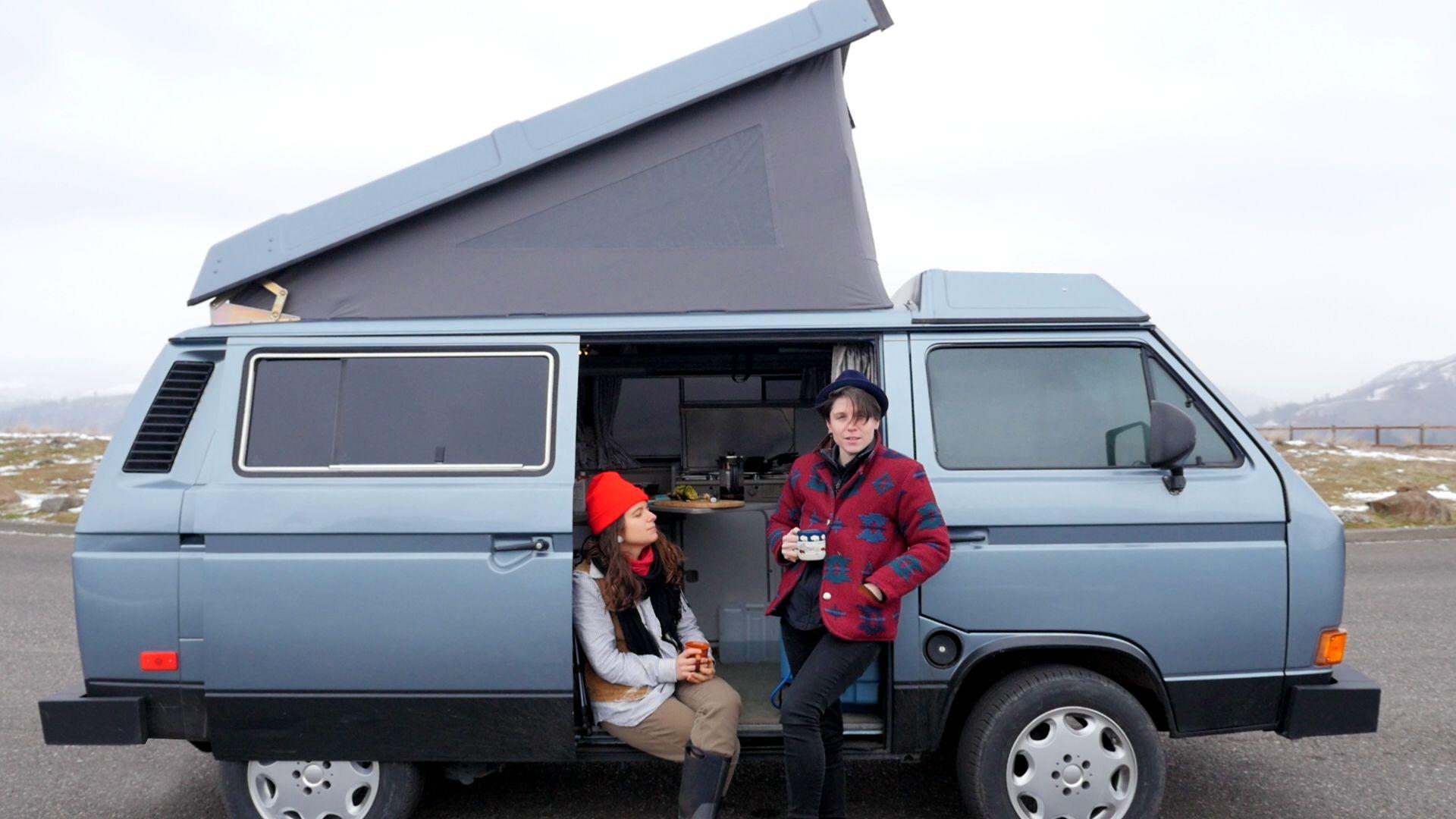 Peace Van Rentals | / Happy Camping / | Camping trailer for