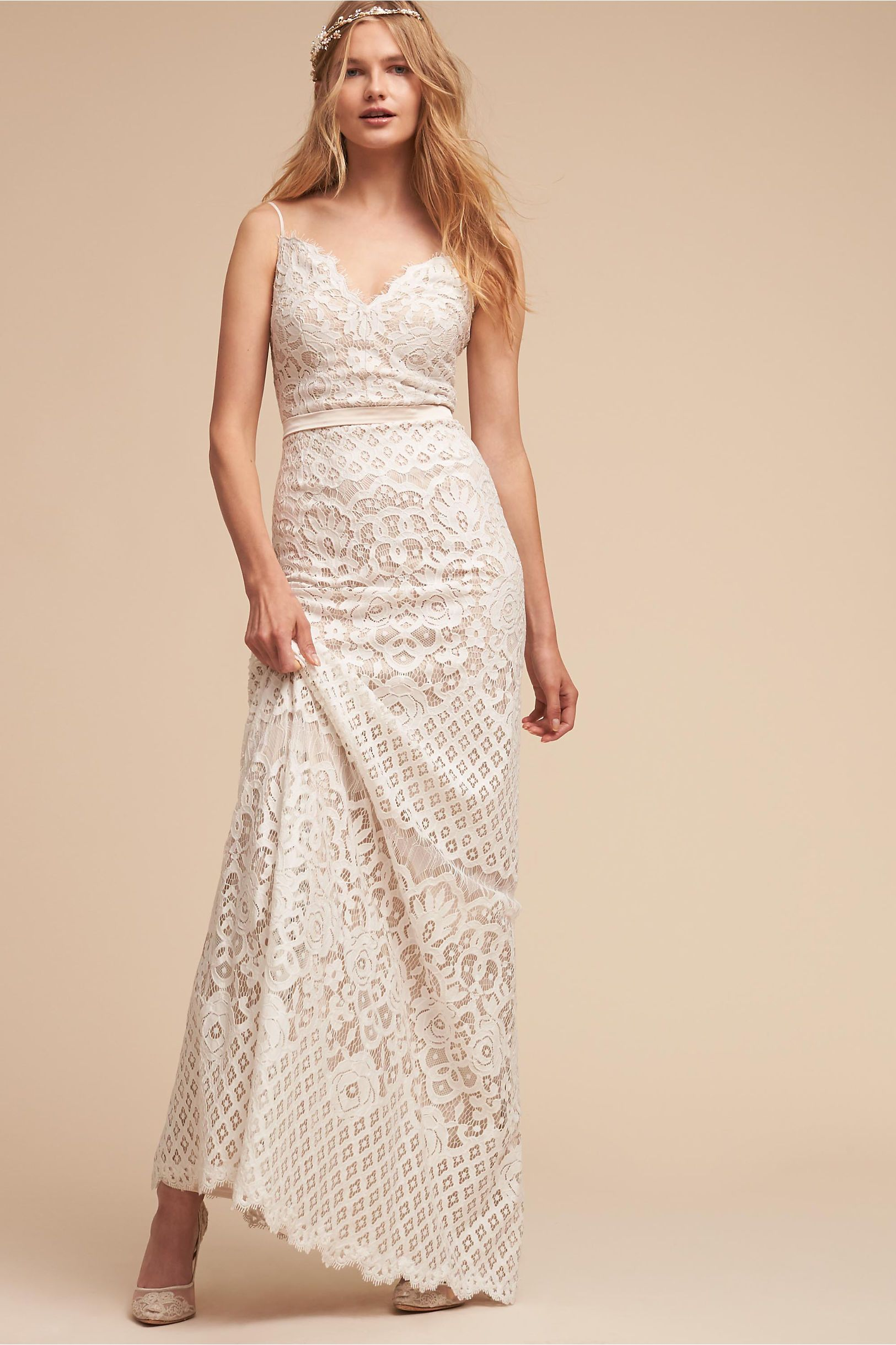 Tadashi Shoji Wedding.Bhldn S Tadashi Shoji Evenson Gown In Ivory Products