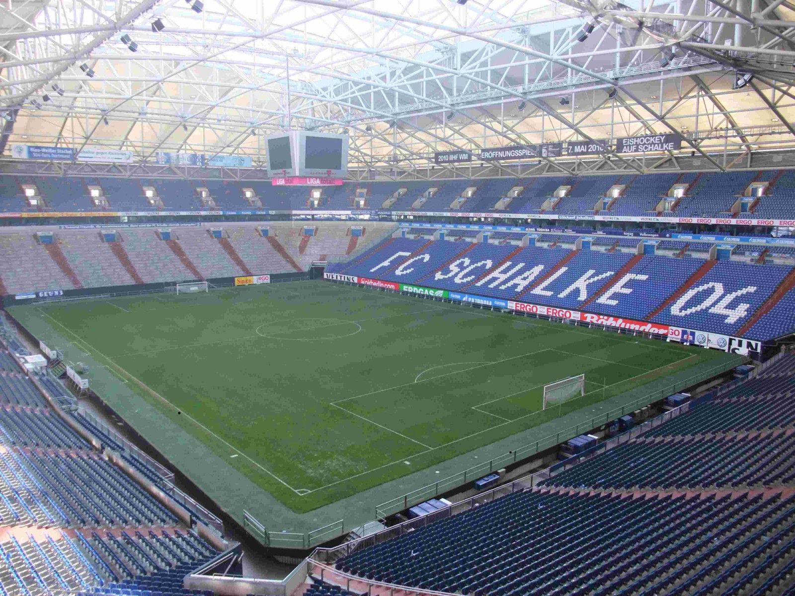 Veltins-Arena, Block 80 | World stadiums | Pinterest