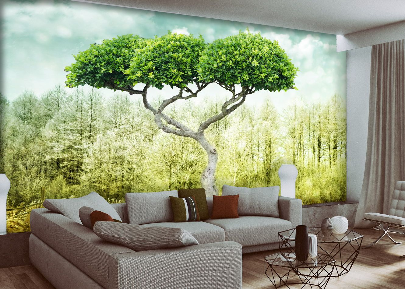 Wall Mural Window Mural Self Adhesive Vinyl Peel And Stick