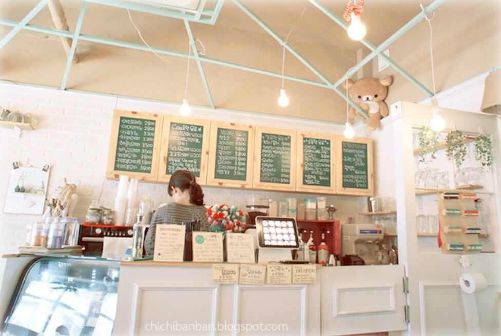 Korean Cafe Interior | kd. | swdbs | Pinterest
