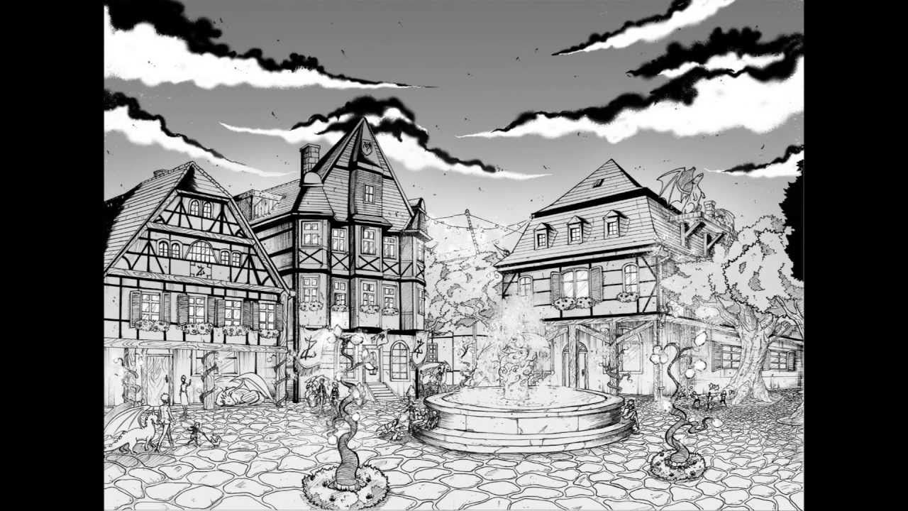 How To Draw Backgrounds For Your Manga Part 1 Drawings Anime Background Manga