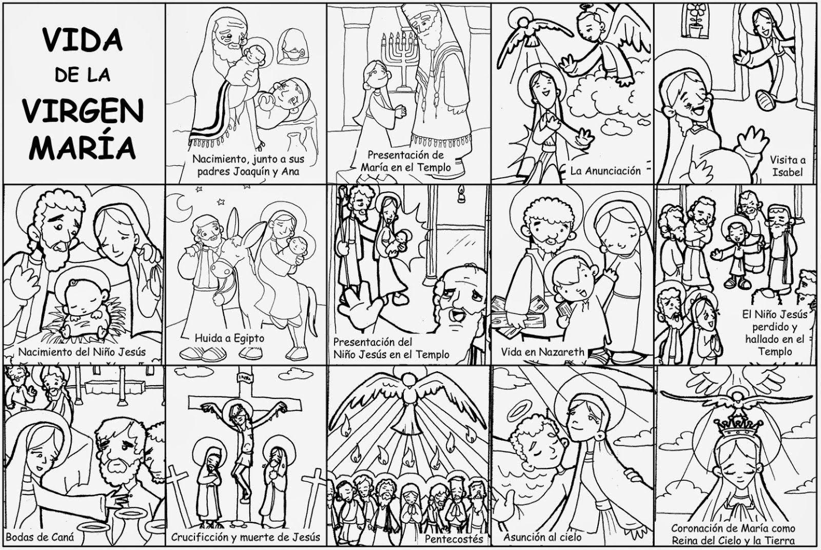 Pin De Mafer Garben En Formacion Ninos Con Imagenes Virgen
