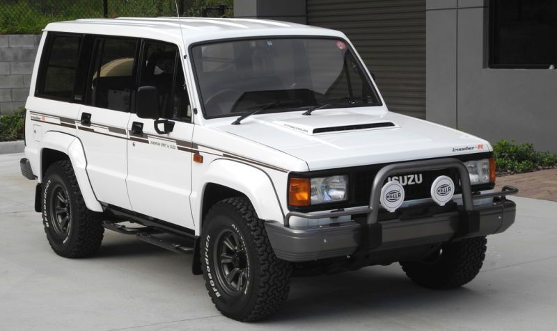 For 33 000 Does This 1989 Isuzu Trooper Bighorn Irmscher R Turbo