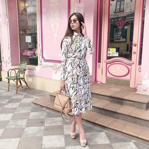 a311e2ae69a23e7 Самые красивые платья-рубашки 2018-2019 года: модные платья-рубашки в  разных стилях, фото