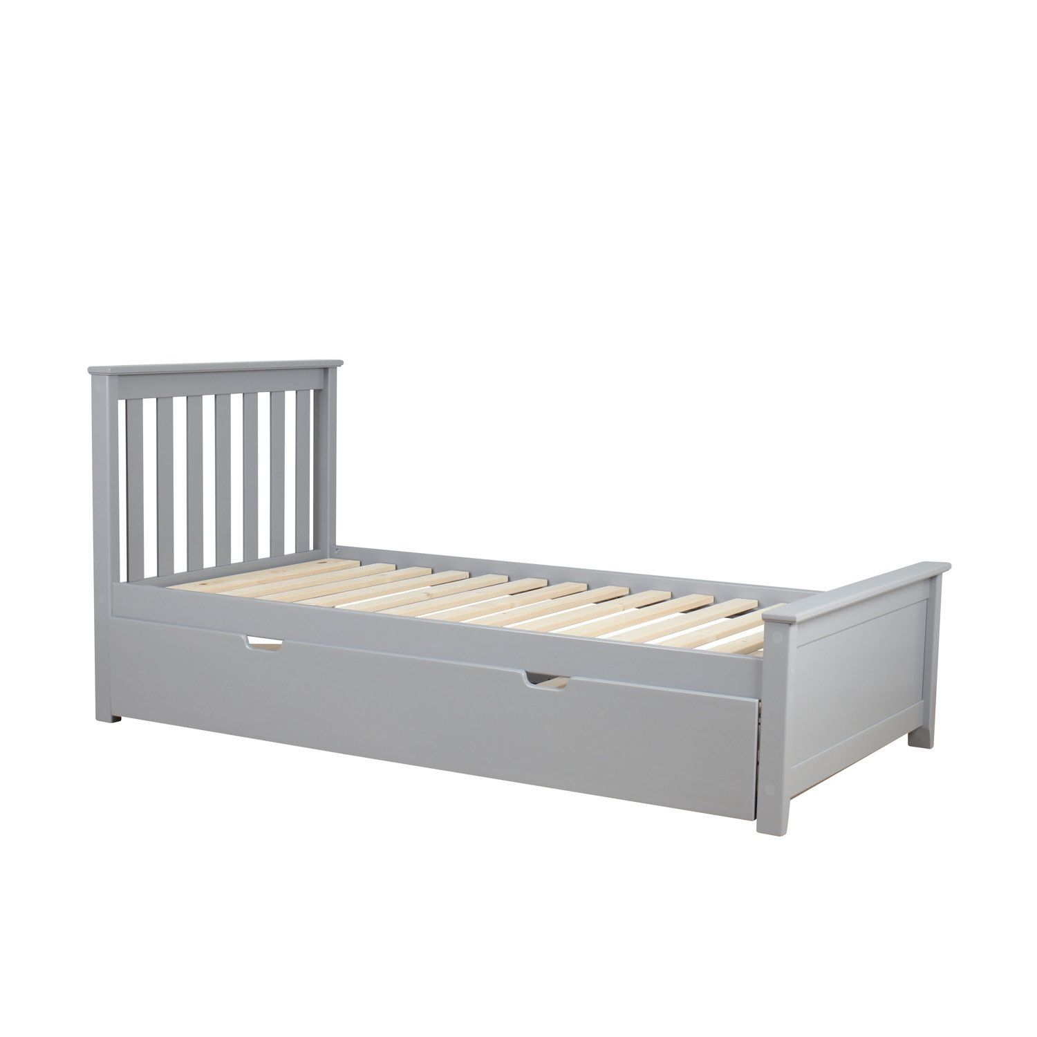 solid wood twin platform bed with trundle frame  products  - solid wood twin platform bed with trundle frame