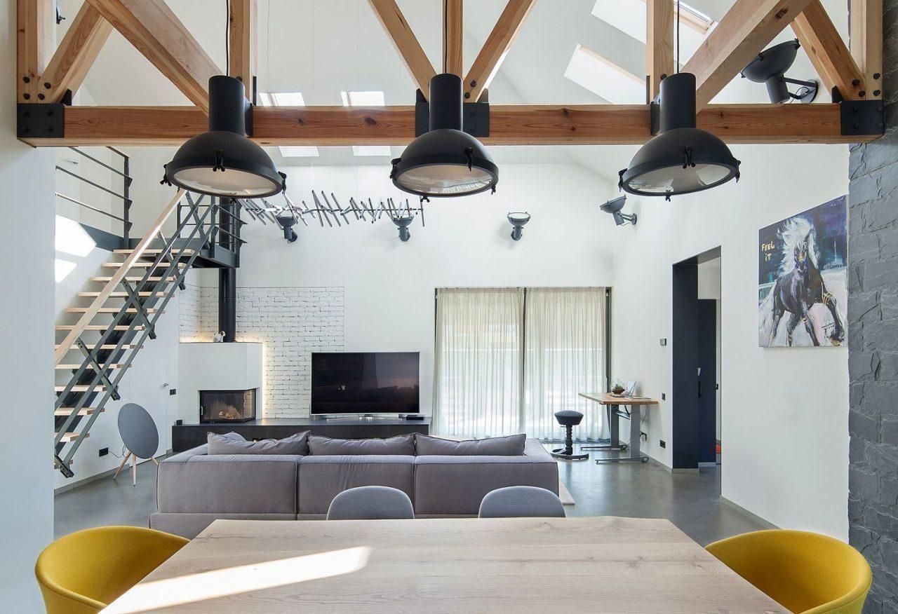 Un loft moderno e luminoso vivere la mansarda