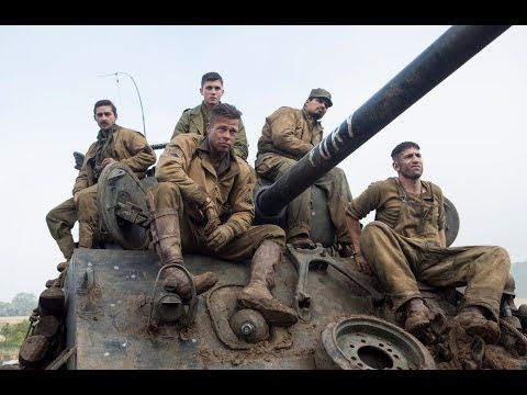 FURY Starring Brad Pitt Official International Trailer - New official trailer fury starring brad pitt