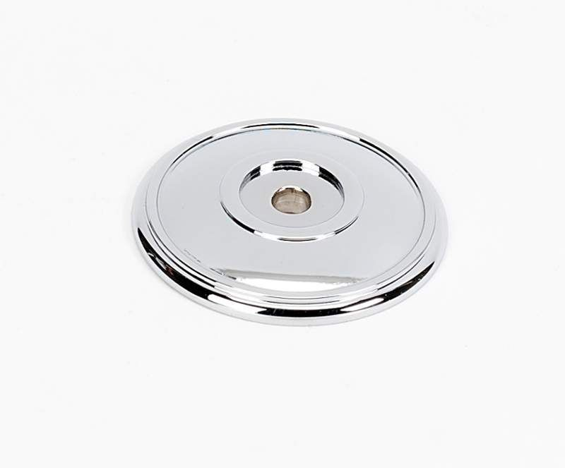 alno a1563 classic traditional series 138 inch cabinet knob backplate polished chrome cabinet hardware backplates knob