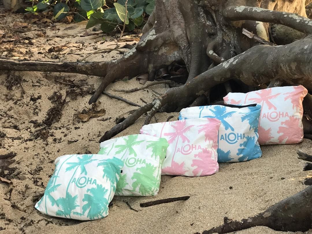 Meet ALOHA Collection Splash-proof bags for all of life's adventures! PC: @alohacollection 🤙🏼🌺🌴 Happy May Day! We're celebrating warmer weather with our classic Coco Palms pouches! ⠀⠀⠀⠀⠀⠀⠀⠀⠀ Which color will you be rocking at the beach this summer? 🌈🌴🌴🌴 #alohacollection #travellightwithus #cocopalms #splashproof 🔥🔥🔥Hawaii Luau Company- Hawaii's Premiere Corporate Event, Luau, Wedding and Entertainment Company.  www.hawaiiluaucompany.com   #hawaiiluaucompany#huakailuau #huakai #hawaii