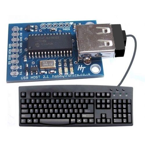 HobbyTronics USB Keyboard to ASCII Converter Raspberry