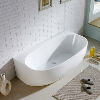 Ordinaire Shop For Maykke 68 Inch Ocala White Freestanding Bathtub. Get Free Shipping  At Overstock