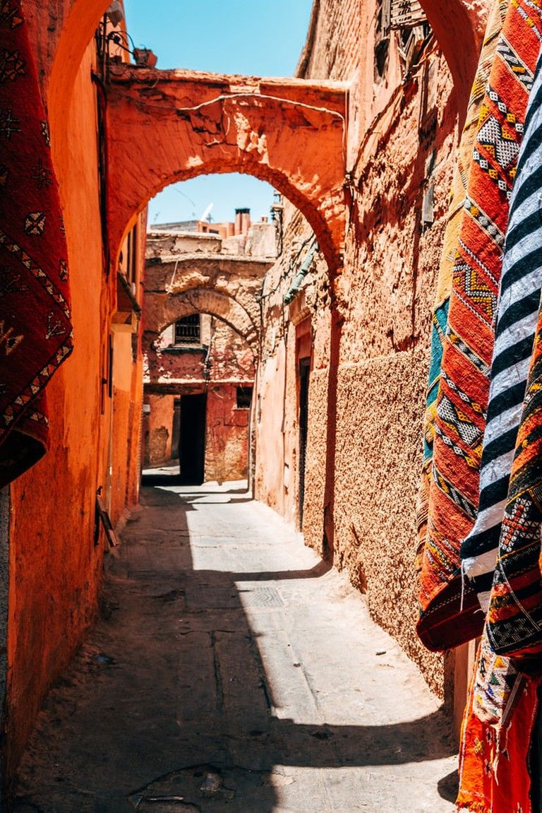 These Are The Most Colourful Streets In Africa Street Marrakech Africa