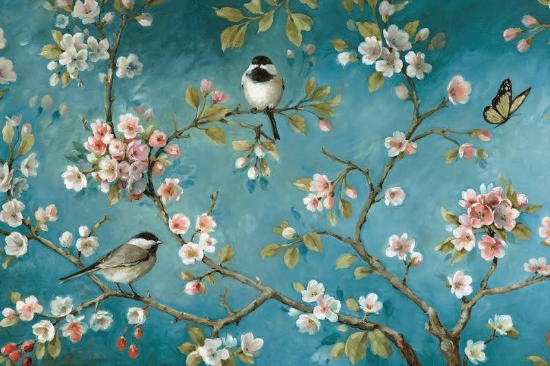 Bloesem Behang Slaapkamer 2 In 2019 Bird Wallpaper