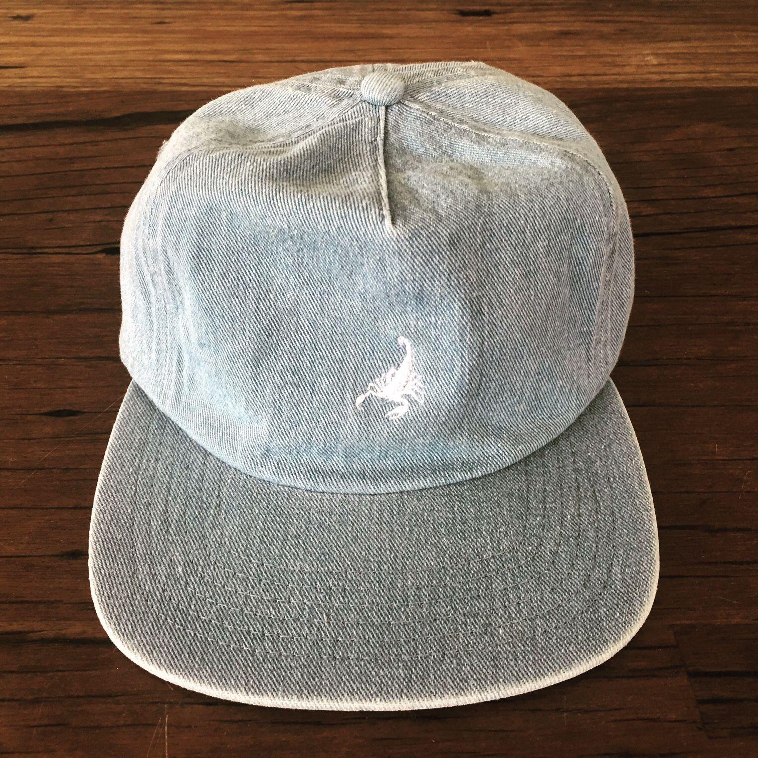 423f556b DENIM 5 PANEL CAP | custom stone wash denim 5 panel cap. Speak with  thesaucesuppliers