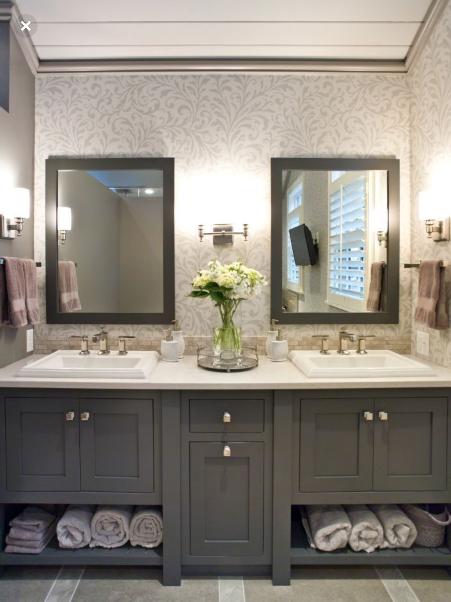 37 Modern Bathroom Vanity Ideas For Your Next Remodel In 2020 Bathroom Vanity Designs Custom Bathroom Bathrooms Remodel