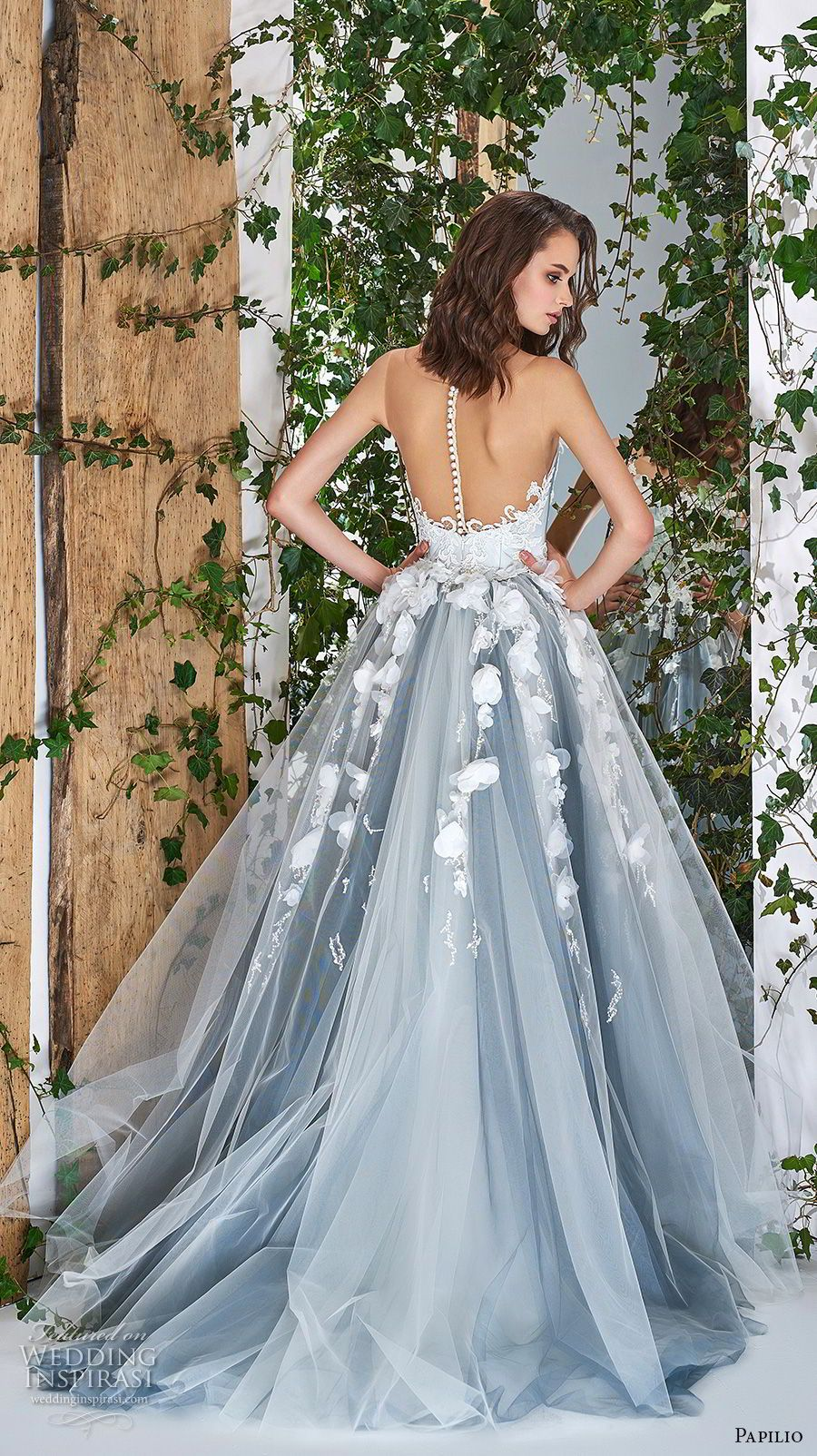 "Papilio 2018 Wedding Dresses — ""Wonderland"" Bridal Collection ..."