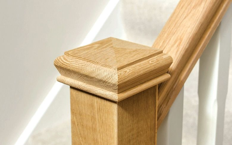 Best Image Result For Staircase Newel Post Tops Oak Newel 400 x 300