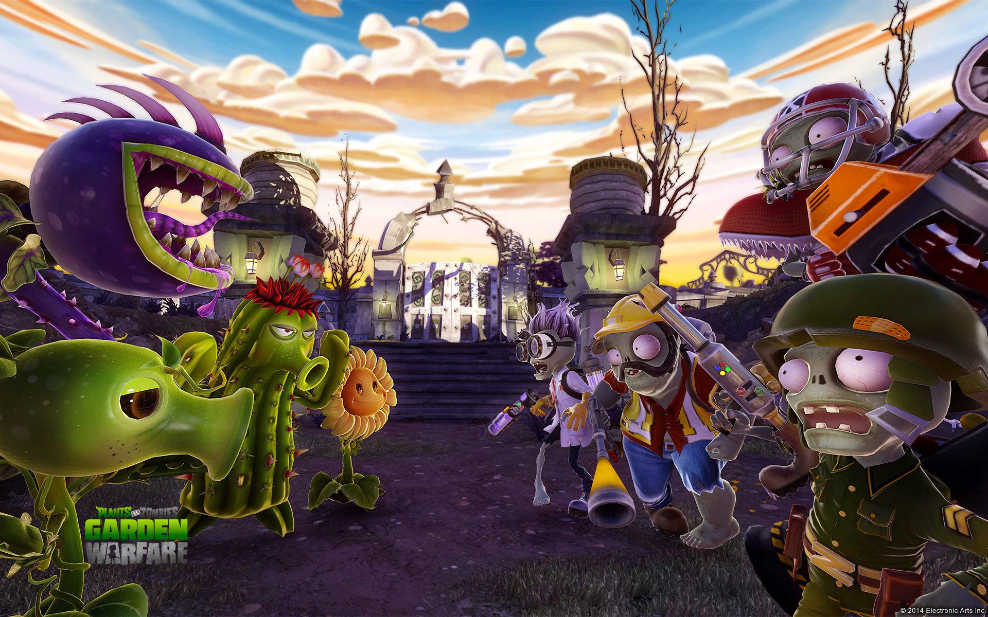 Plants Vs Zombies Garden Warfare Wallpaper 48563 With Images