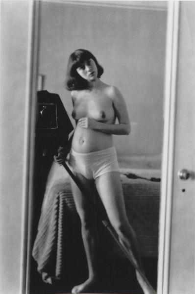Diane Arbus, Self-Portrait in Mirror, 1945