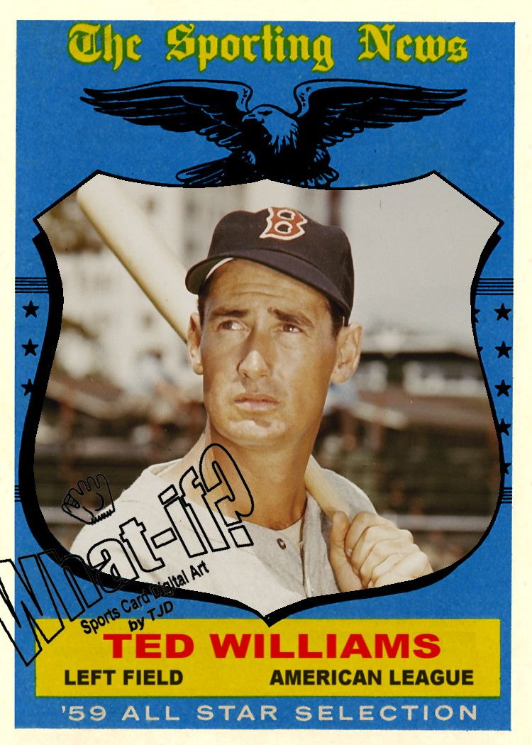 1959 topps ted williams all star baseball cards best
