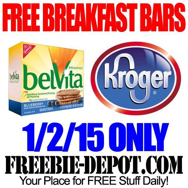 FREE belVita Breakfast Bars at Kroger Freebie Friday