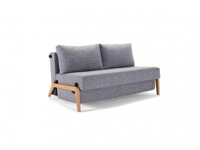 Cubed Sofa Bed With Chrome Legs Innovation Schlafsofa Schlafsofa Bettsofa