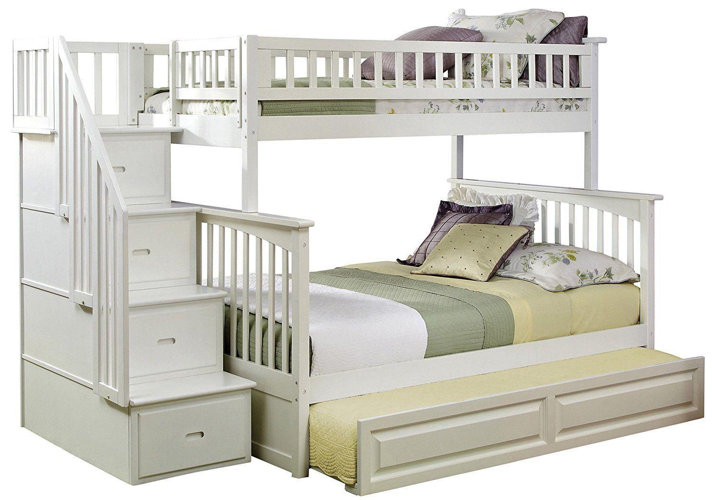 18 Twin Over Full Bunk Bed Ikea Bedroom Ideas Kids Bunk Beds Cool Bunk Beds Stairway Bunk Beds