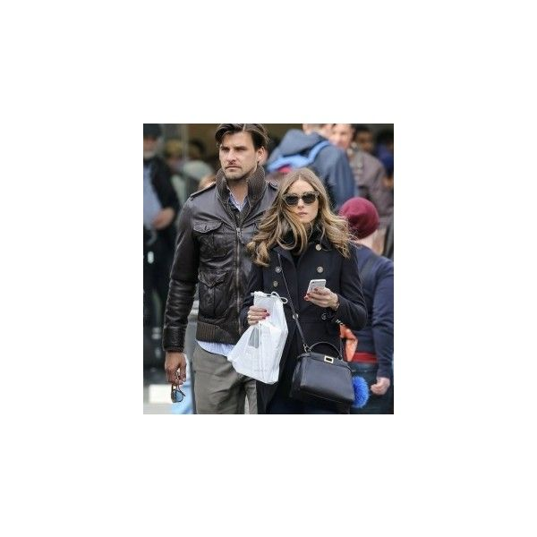 Olivia Palermo with Fendi Mini Peekaboo Crossbody Bag