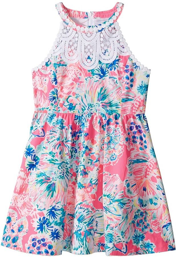 ea8b7ded2d43 Lilly Pulitzer Kids Kinley Dress (Toddler Little Kids Big Kids ...