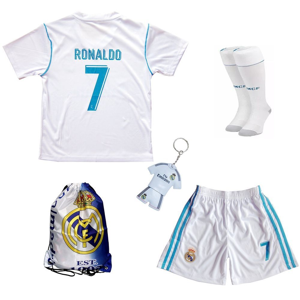 separation shoes 84f8d 70e12 Real Madrid Cristiano Ronaldo CR7 Football Soccer Kit for ...