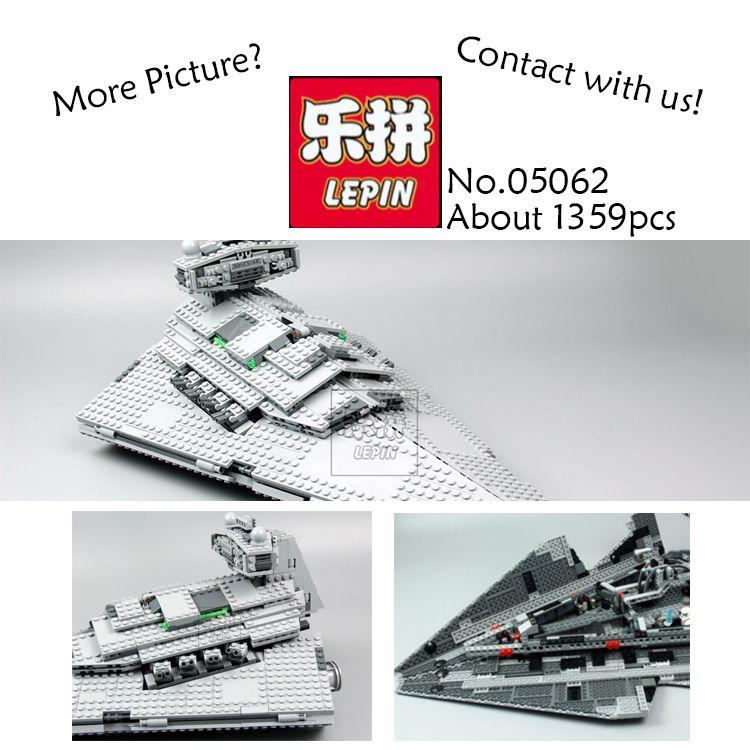 Lepin 05062 Star War Series The Imperial Super Star Destroyer Set