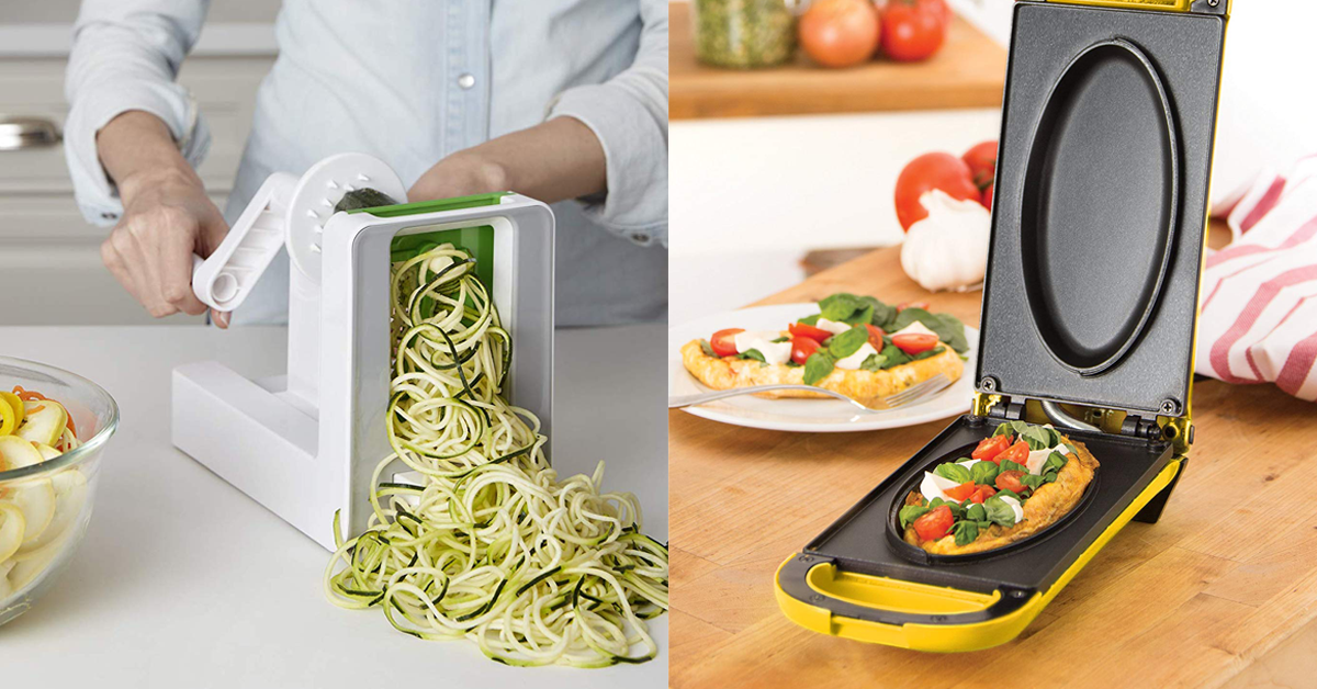 22 kitchen gadgets that ll actually make you want to cook on kitchens that ll make you want to redo yours id=79562