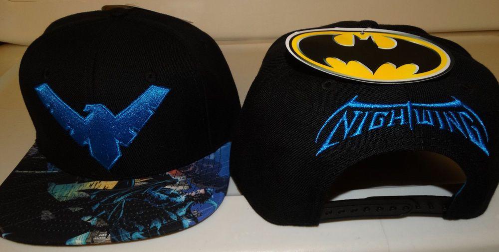 ... germany batman nightwing sublimated bill dc comics snap back hat nwt batman  baseballcap 25406 d35a9 ... 324f802c24d1