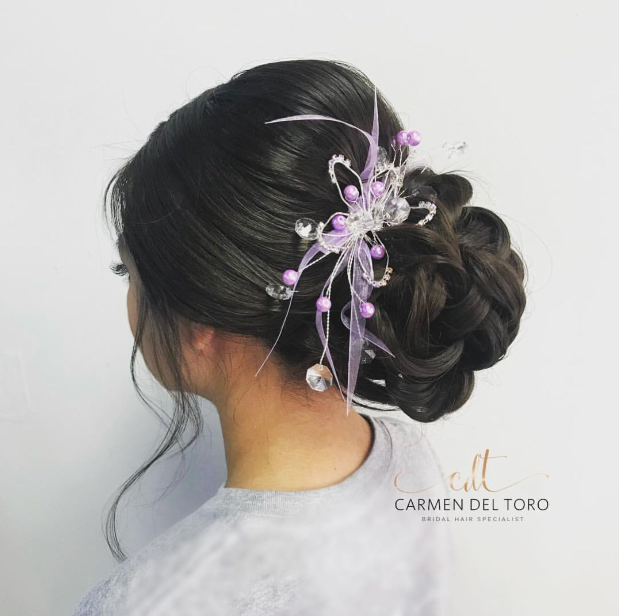 Beautiful Low Bun Quinceanera Hairspiration Hairstyleideas Xvanos Sweetsixteen Updo Beautiful Buns Bridal Hair Beautiful