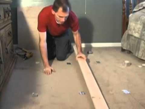 Great Video On Fixing Squeaky Floors Something That Every House Develops Fix Squeaky Floors Squeaky Floors Flooring