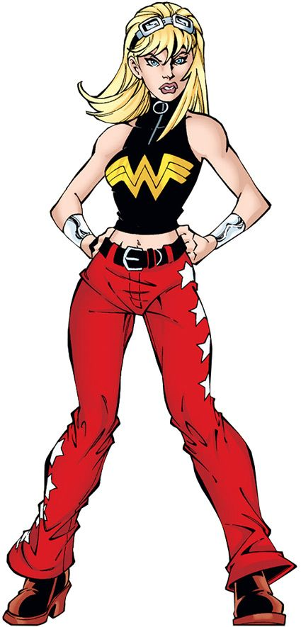 woman Young comic wonder justice