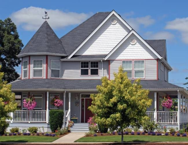 Fetching Victorian House Styles Decor Garden Pool Modern Houses ...
