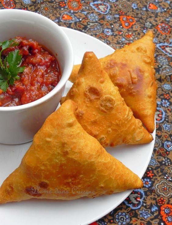 Samoussas indiens (végétarien | Cuisine antillaise ...