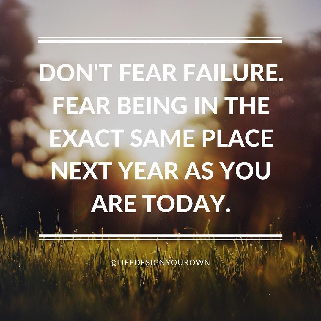 There S Nothing More Scary Than Complacency Inspirational
