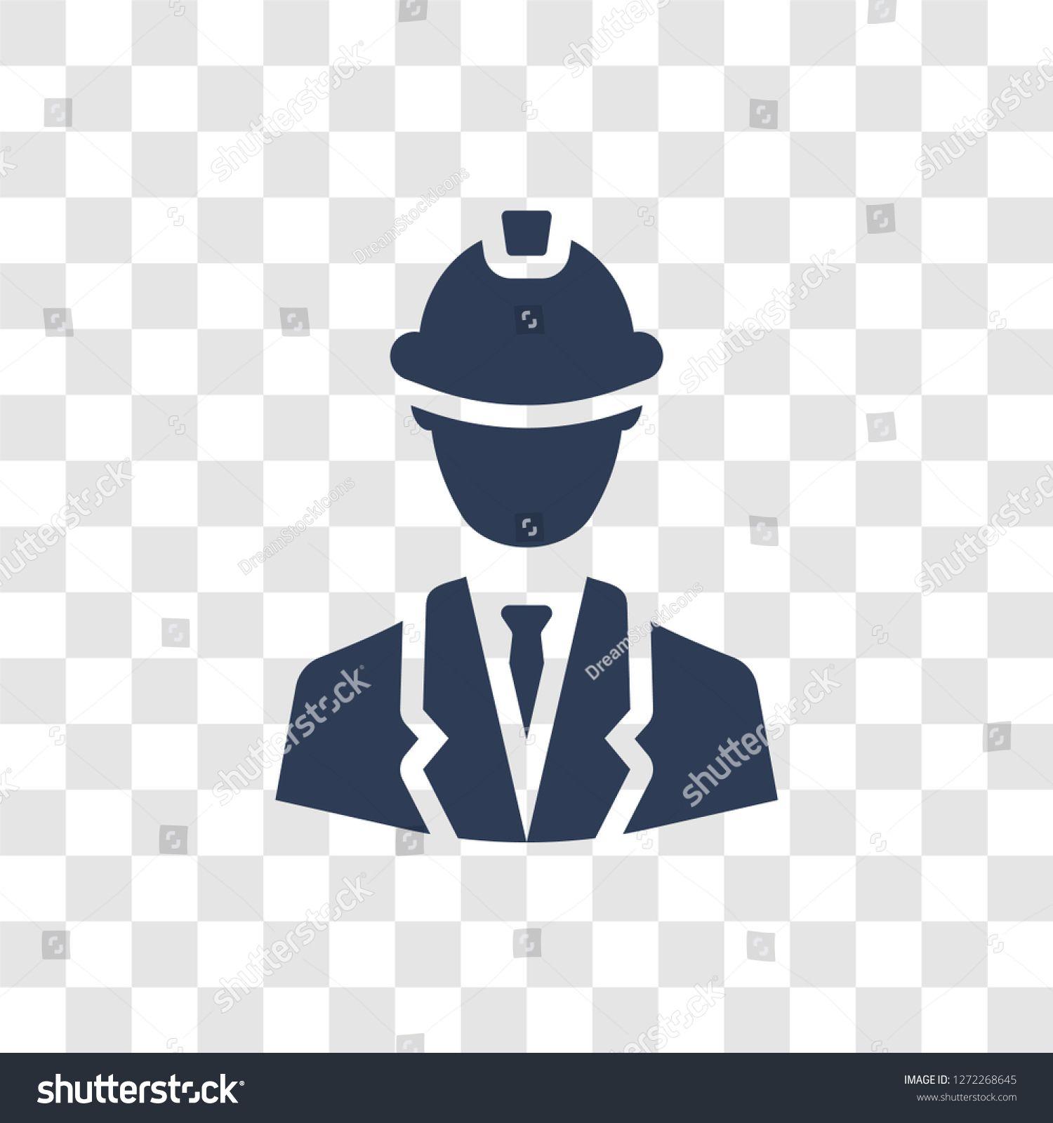 Industrial Engineer Icon Trendy Industrial Engineer Logo Concept