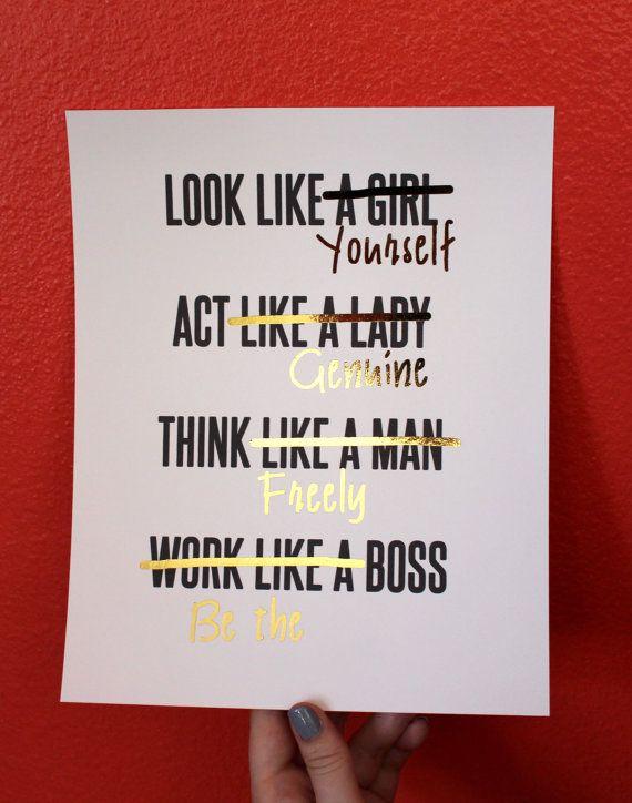 act like a woman think like a man book